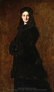 Portrait of Madame Paul Duchesne-Fournet painting reproduction, Jean-Jacques Henner