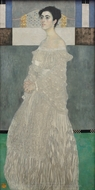 Portrait of Margaret Stonborough-Wittgenstein painting reproduction, Gustav Klimt
