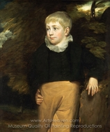 Portrait of Master Crosby painting reproduction, John Constable