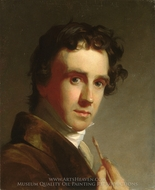Portrait of the Artist painting reproduction, Thomas Sully