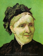 Portrait of the Artist's Mother painting reproduction, Vincent Van Gogh