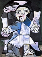 Premiers Pas painting reproduction, Pablo Picasso (inspired by)