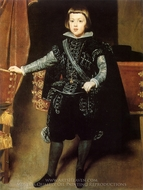 Prince Balthasar Carlos painting reproduction, Diego Vel�zquez