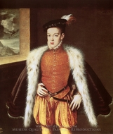 Prince Don Carlos painting reproduction, Alonzo Sanchez