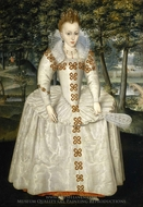 Princess Elizabeth of Bohemia, the Winter Queen painting reproduction, Robert Peake