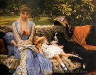 Quiet painting reproduction, James Tissot