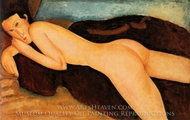 Reclining Nude from the Back painting reproduction, Amedeo Modigliani