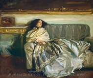 Repose (Nonchaloire) painting reproduction, John Singer Sargent