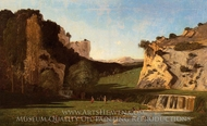 River Valley at Lourmarin painting reproduction, Paul-Camille Guigou