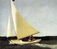 Sailing painting reproduction, Edward Hopper