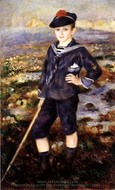 Sailor Boy (Robert Nunes) painting reproduction, Pierre-Auguste Renoir