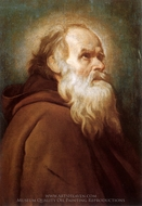 Saint Anthony the Abbot painting reproduction, Diego Vel�zquez