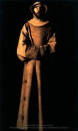 Saint Francis of Assisi painting reproduction, Francisco De Zurbaran
