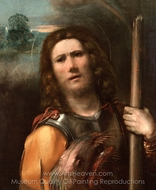 Saint George painting reproduction, Dosso Dossi