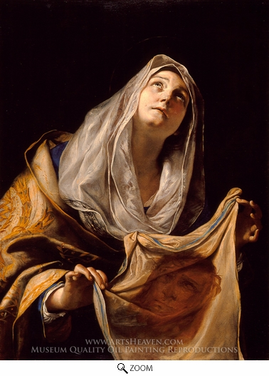 Mattia Preti, Saint Veronica with the Veil oil painting reproduction
