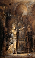 Salome Dancing painting reproduction, Gustave Moreau