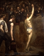 Salutat painting reproduction, Thomas Eakins