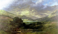 Scottish Highlands painting reproduction, Gustave Dore