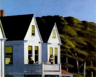 Second Story Sunlight painting reproduction, Edward Hopper