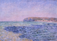 Shadows on the Sea painting reproduction, Claude Monet