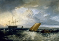 Sheerness as seen from the Nore painting reproduction, Joseph Mallord William Turner