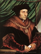 Sir Thomas More painting reproduction, Hans Holbein, The Younger