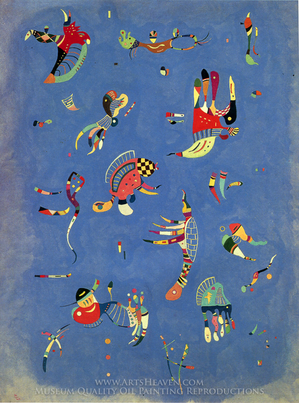 Kandinsky Paintings Blue | www.pixshark.com - Images ...