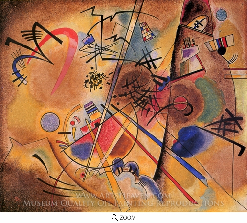 Wassily Kandinsky, Small Dream in Red oil painting reproduction