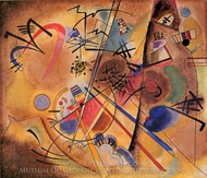 Small Dream in Red painting reproduction, Wassily Kandinsky