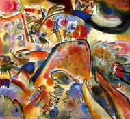 Small Pleasures painting reproduction, Wassily Kandinsky