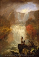 Song of the Waters painting reproduction, Jerome B. Thompson