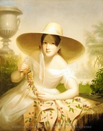 Spring painting reproduction, Cephas Giovanni Thompson