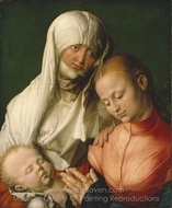 St. Anne with the Virgin and Child painting reproduction, Albrecht Durer