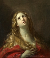 St. Mary Magdalene painting reproduction, Guido Reni