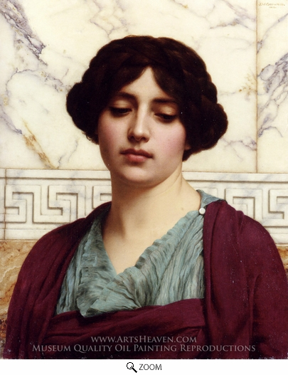 John William Godward, Stesicrate oil painting reproduction