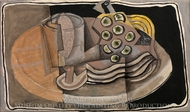 Still Life painting reproduction, Georges Braque