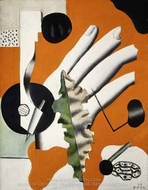 Still Life painting reproduction, Fernand Leger