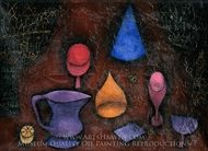 Still Life painting reproduction, Paul Klee