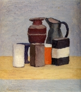 Still Life painting reproduction, Giorgio Morandi