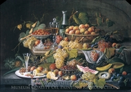 Still Life: Fruit painting reproduction, Severin Roesen