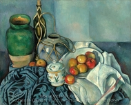 Still Life with Apples painting reproduction, Paul Cezanne