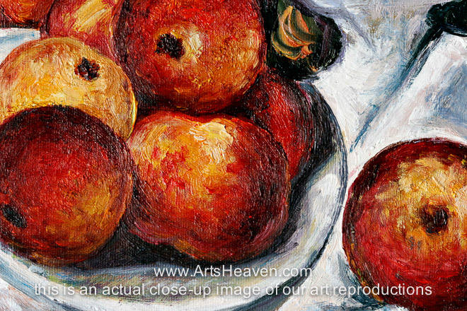 paul cezanne apples and oranges essay Khan academy is a nonprofit with the mission of providing a free cezanne, the large bathers paul cézanne, the basket of apple s (detail), c 1893.