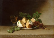 Still Life with Cake painting reproduction, Raphaelle Peale
