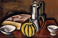 Still Life with Coffee Pot and Melon painting reproduction, Roger De La Fresnaye