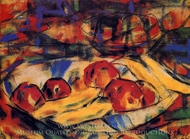 Still Life with Fruit painting reproduction, Christian Rohlfs