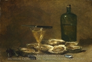 Still Life with Oysters painting reproduction, Philippe Rousseau