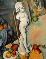 Still Life with Plaster Cupid painting reproduction, Paul C�zanne