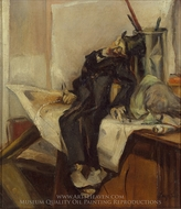 Still Life with Puppet painting reproduction, Franz Kline