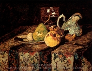 Still Life with White Jug painting reproduction, Adolphe Monticelli
