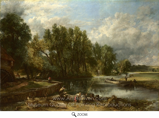 John Constable, Stratford Mill oil painting reproduction